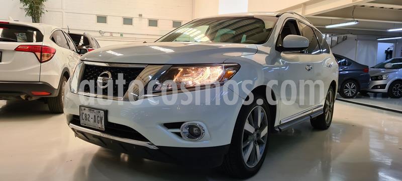 Nissan Pathfinder Exclusive usado (2015) color Blanco precio $329,100