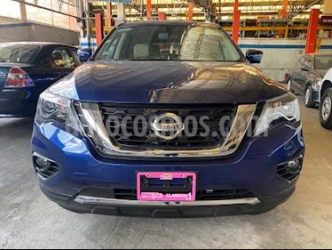 Nissan Pathfinder Exclusive usado (2018) color Azul Metalico precio $425,900