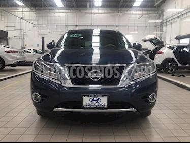 foto Nissan Pathfinder 5p Exclusive V6/3.5 Aut usado (2014) color Azul precio $295,000