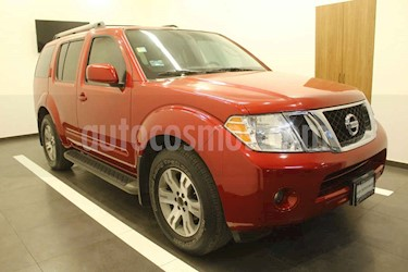 Nissan Pathfinder 5p Advance aut V6 usado (2012) color Rojo precio $189,000