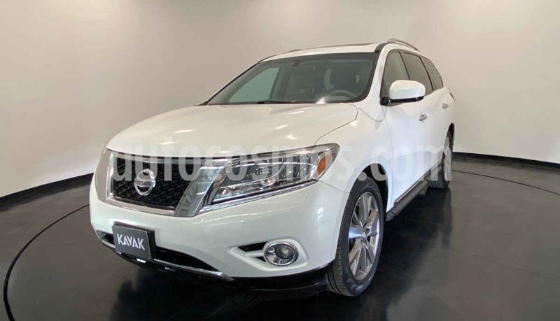 Nissan Pathfinder Exclusive usado (2014) color Blanco precio $272,999