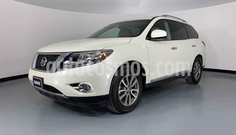 Nissan Pathfinder Advance usado (2015) color Blanco precio $337,999