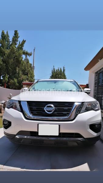 Nissan Pathfinder Exclusive usado (2017) color Blanco precio $440,000