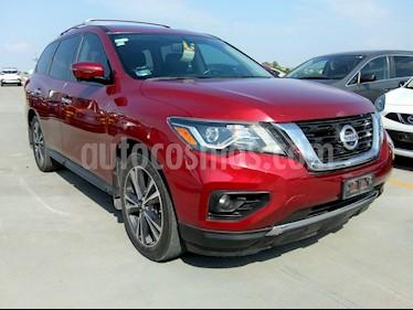 Nissan Pathfinder Exclusive usado (2017) color Rojo precio $455,000