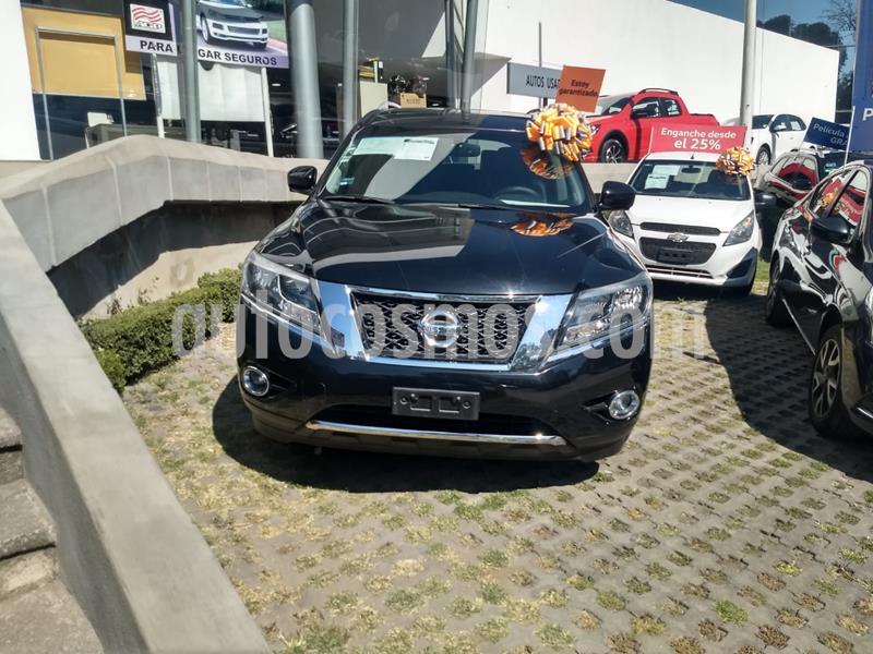 Nissan Pathfinder Exclusive usado (2015) color Negro precio $290,000