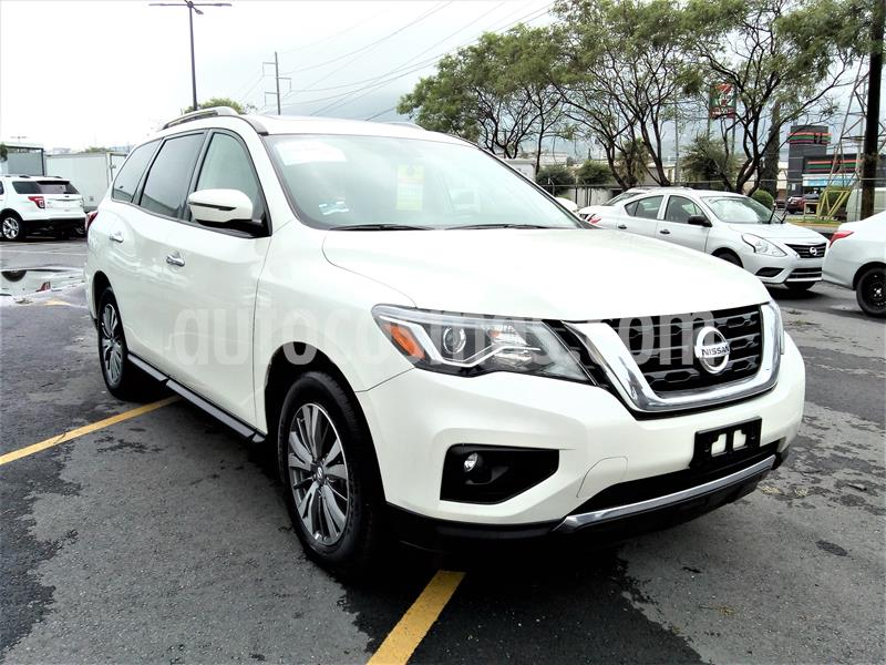 Nissan Pathfinder Advance usado (2019) color Blanco precio $630,000