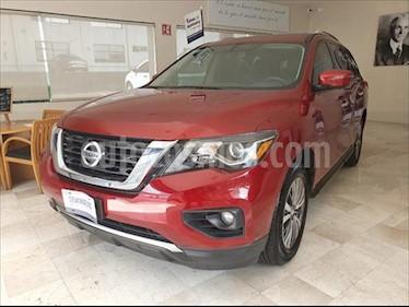 Nissan Pathfinder Advance usado (2018) color Rojo precio $499,000