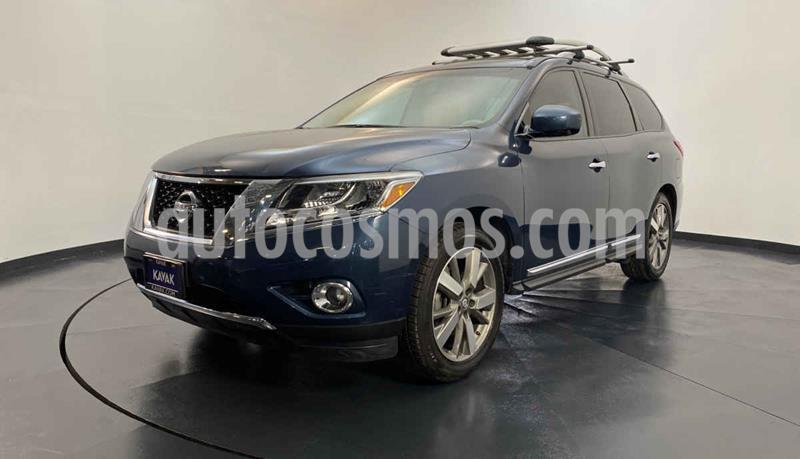 Nissan Pathfinder Exclusive usado (2014) color Azul precio $269,999