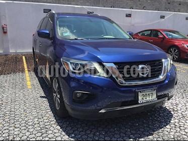 Foto venta Auto usado Nissan Pathfinder PATHFINDER 3.5 ADVANCE AT 5P 7 Plazas (2017) color Azul precio $399,000