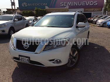 foto Nissan Pathfinder PATHFINDER 3.5 EXCLUSIVE 4WD AT 5P 7 Plazas usado (2014) color Blanco precio $260,000