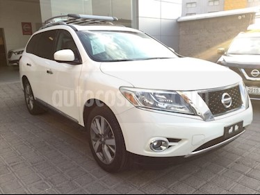 Foto venta Auto usado Nissan Pathfinder PATHFINDER 3.5 EXCLUSIVE AT 4WD 5P 7 Plazas (2013) color Blanco precio $250,000