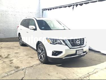 Foto venta Auto usado Nissan Pathfinder PATHFINDER 3.5 EXCLUSIVE AUTO 4WD 5P 7 Plazas (2019) color Blanco precio $689,000