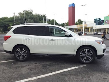 Foto Nissan Pathfinder PATHFINDER 3.5 EXCLUSIVE AUTO 5P 7 Plazas usado (2018) color Blanco precio $625,000