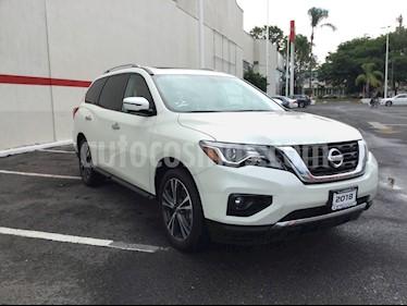 Foto venta Auto usado Nissan Pathfinder PATHFINDER 3.5 EXCLUSIVE AUTO 5P 7 Plazas (2018) color Blanco precio $599,000