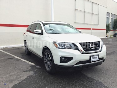 Foto venta Auto usado Nissan Pathfinder PATHFINDER EXCLUSIVE AWD (2018) color Blanco precio $615,000