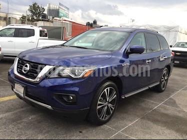 Foto venta Auto usado Nissan Pathfinder PATHFINDER EXCLUSIVE (2018) color Azul precio $630,000