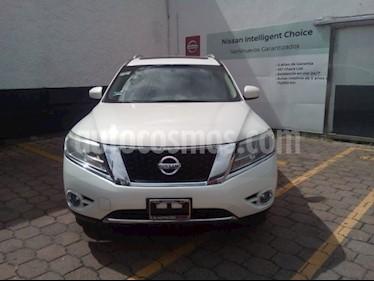 Foto venta Auto usado Nissan Pathfinder PATHFINDER EXCLUSIVE (2017) color Blanco precio $550,000
