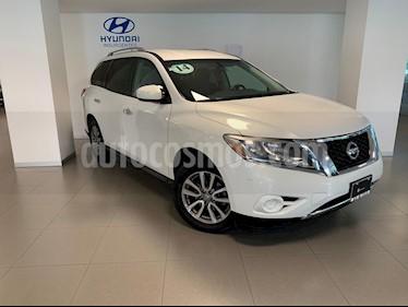 Foto venta Auto usado Nissan Pathfinder Sense (2014) color Blanco precio $249,000