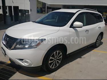 Foto venta Auto usado Nissan Pathfinder Sense (2014) color Blanco precio $260,000