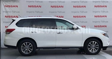 Foto venta Auto Seminuevo Nissan Pathfinder Sense (2014) color Blanco precio $280,000