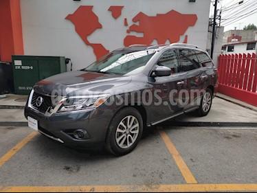 Nissan Pathfinder Sense usado (2014) color Gris precio $260,000