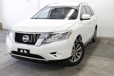 Foto venta Auto usado Nissan Pathfinder Sense (2015) color Blanco precio $308,000