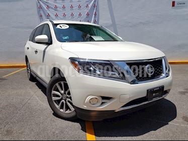 Foto venta Auto usado Nissan Pathfinder Sense (2015) color Blanco precio $285,000