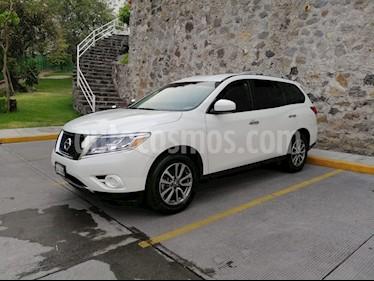 Nissan Pathfinder Sense usado (2015) color Blanco precio $278,500