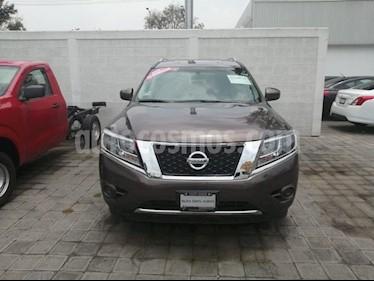 Foto venta Auto usado Nissan Pathfinder Sense (2014) color Cocoa Metalico precio $289,000
