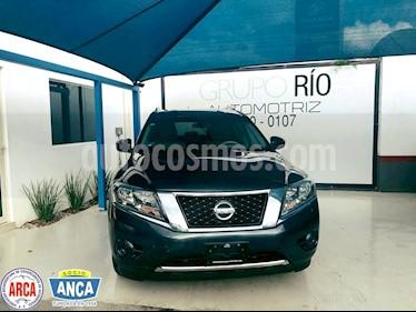 Foto venta Auto usado Nissan Pathfinder Sense (2014) color Azul precio $239,000