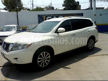 Foto venta Auto usado Nissan Pathfinder Sense (2016) color Blanco precio $300,500