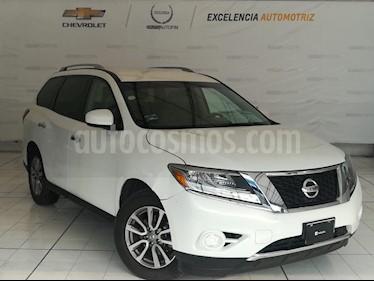 Foto venta Auto Seminuevo Nissan Pathfinder Sense (2014) color Blanco precio $245,000