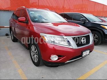 Foto venta Auto usado Nissan Pathfinder Sense (2013) color Vino Tinto precio $215,000