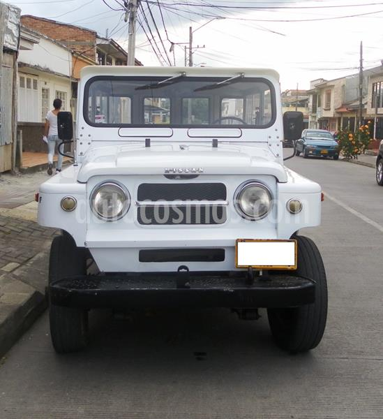 Nissan Patrol cabinado- usado (1979) color Blanco precio $18.000.000