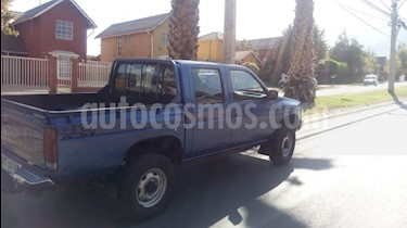 Nissan Pick-up D-21 4X4 Cab Doble 2.4 DX Mec 4P usado (1998) color Azul precio $3.250.000