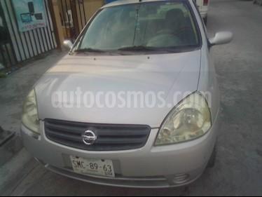 Foto venta Auto usado Nissan Platina A 1.6L (2005) color Gris Plata  precio $37,000