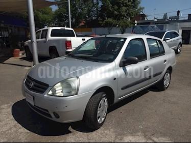 Foto venta Auto usado Nissan Platina Custom AC (2010) color Plata precio $78,000