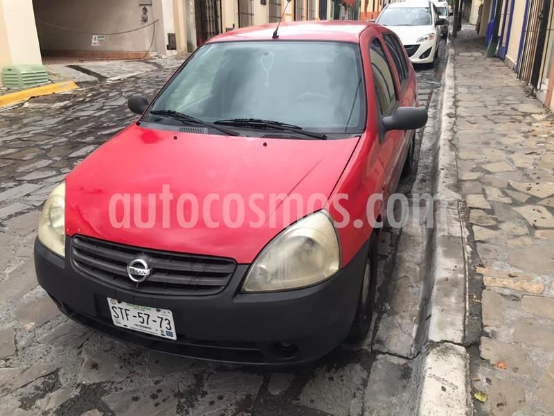 Nissan Platina K 1.6L Plus Ac usado (2003) color Rojo precio $37,000