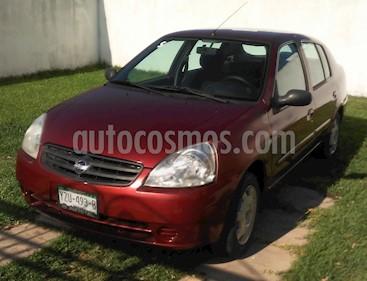 Nissan Platina K 1.6L AC usado (2006) color Rojo precio $44,800