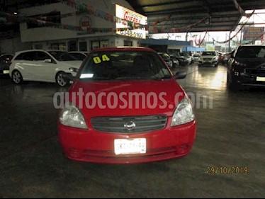 Nissan Platina A 1.6L usado (2004) color Rojo precio $45,000