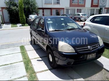Nissan Platina Q 1.6L Ac usado (2005) color Azul precio $35,000