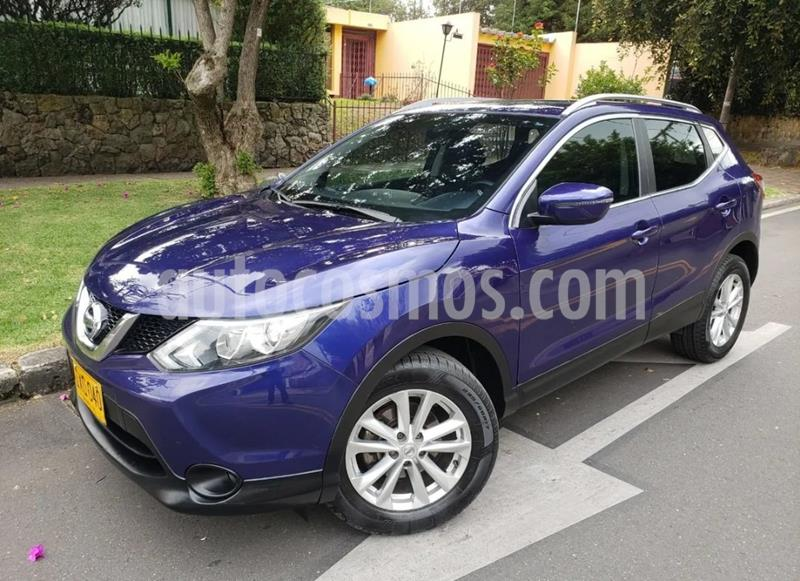 Nissan Qashqai 2.0L Advance usado (2016) color Azul Intense precio $60.900.000