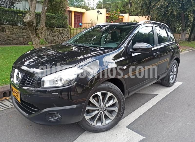 Nissan Qashqai 2.0L Exclusive 4x4 Aut  usado (2013) color Negro precio $48.900.000