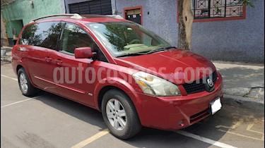 Nissan Quest 3.5L SL  usado (2006) color Rojo Vivo precio $88,000