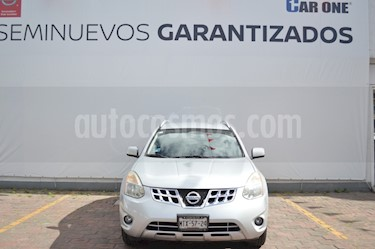 Nissan Rogue Advance usado (2014) color Plata precio $184,900