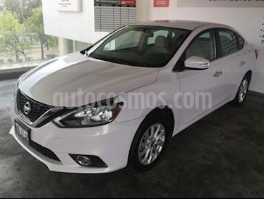 Nissan Sentra 4p Advance L4/1.8 Aut usado (2017) color Blanco precio $207,000