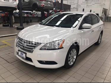 Nissan Sentra 4p Advance L4/1.8 Aut usado (2016) color Blanco precio $195,000