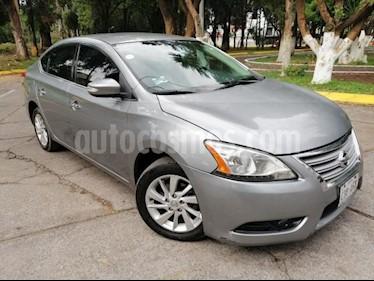 foto Nissan Sentra 4p Advance L4/1.8 Aut usado (2013) color Gris precio $115,000