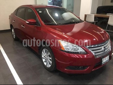 Nissan Sentra 4p Advance L4/1.8 Man usado (2016) color Rojo precio $157,500