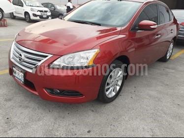 Foto venta Auto usado Nissan Sentra 4p Advance L4/1.8 Man (2016) color Rojo precio $179,900